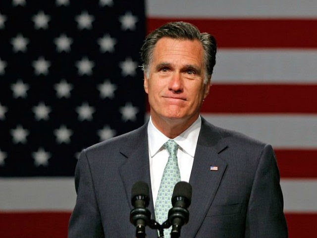 "Mitt Romney, pictured May 8, 2012, said Donald Trump ""has neither the temperament nor the judgment to be president"""