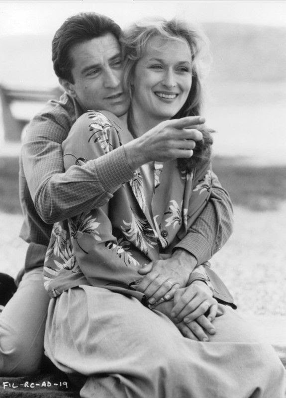 Robert De Niro and Meryl Streep, Falling in Love
