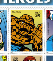 The Thing postage stamp