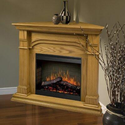 Corner Fireplaces Dimplex Oxford Cherry Corner Fireplace