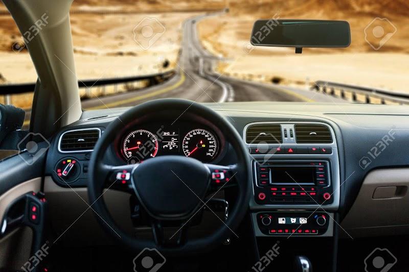Car Interior Front