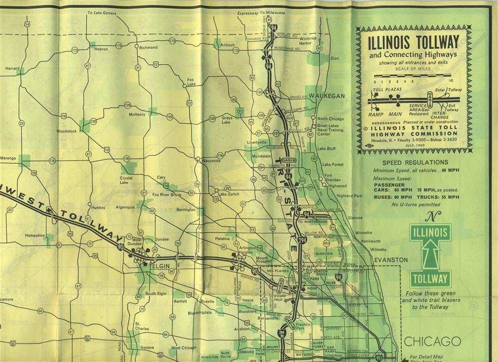 Us Tollway Map