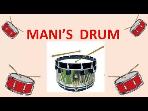2nd std -Term 2 -English-MANI'S DRUM