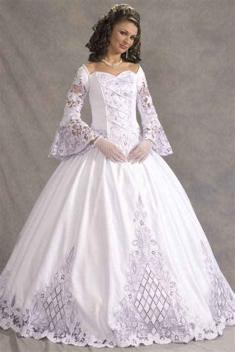 English Wedding Dress Design   FASHIONGURU99