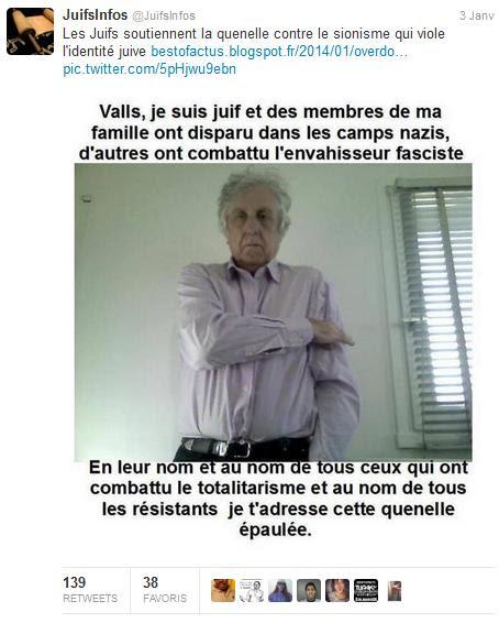 Juifs de France soutiennent la quenelle - sionisme judaisme