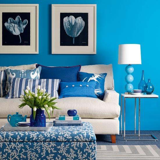 Taze mavi salon | Salon tasarım | Görüntüler | Housetohome