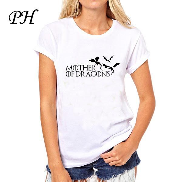 Hot 2016 T Shirt Women Game Of Thrones Ringer Tee Shirt