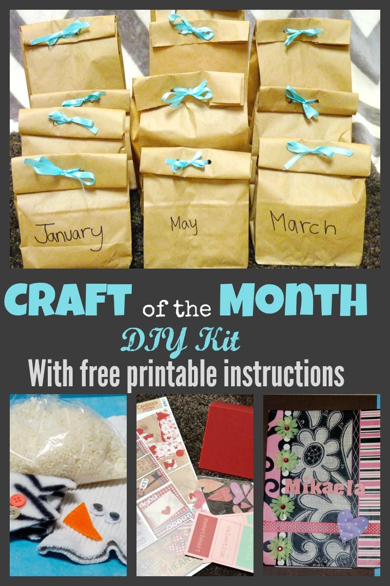 DIY Kids Craft Subscription Kit  More Excellent Me