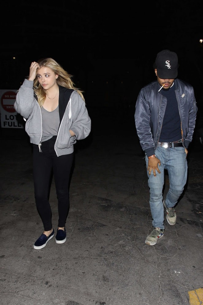 Chloe Moretz: Leaving Bardot Nightclub -07