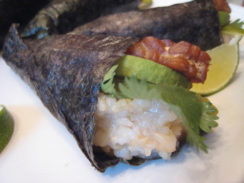 Hatch Chile Hand Rolls.JPG