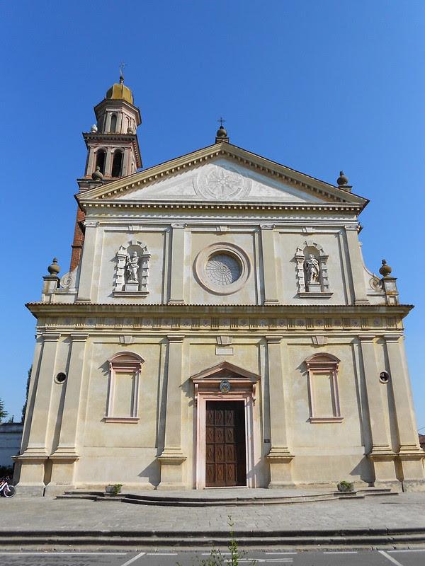 Fratta Polesine - Chiesa arcipretale santi apostoli Pietro e Paolo