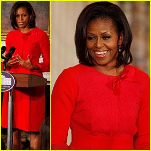 Michelle Obama: White House Music Series Speaker!