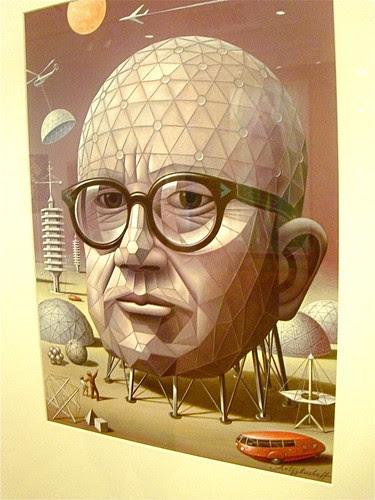 47  143/365  Another pseron I dig; Buckminster Fuller