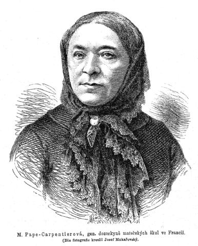 Marie-Pape Carpantier, photo de 1879