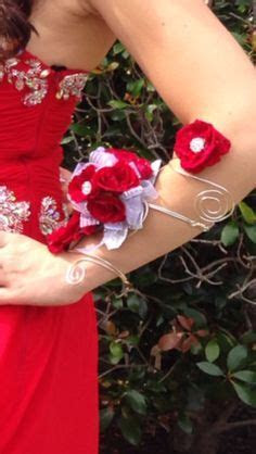 1000  images about arm corsage on Pinterest   Band, Prom