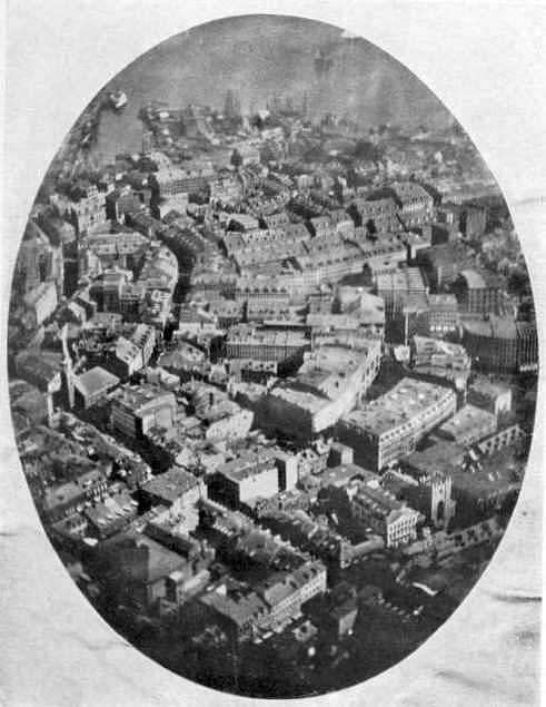 first aerial photo As Primeiras Fotografias da História