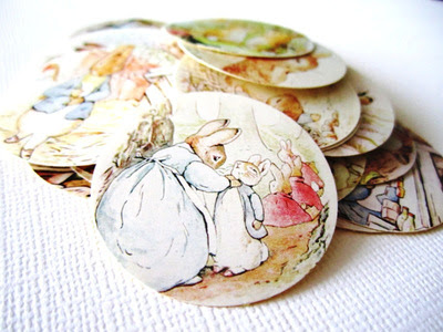 Peter Rabbit Tale Stickers