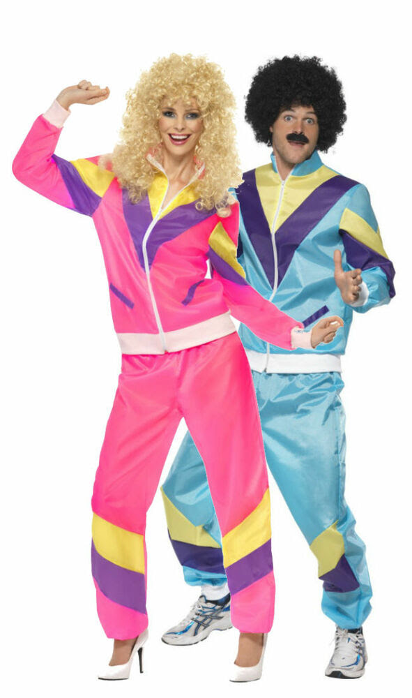 tracksuit scouser shell 80's lovers suit retro dance disco