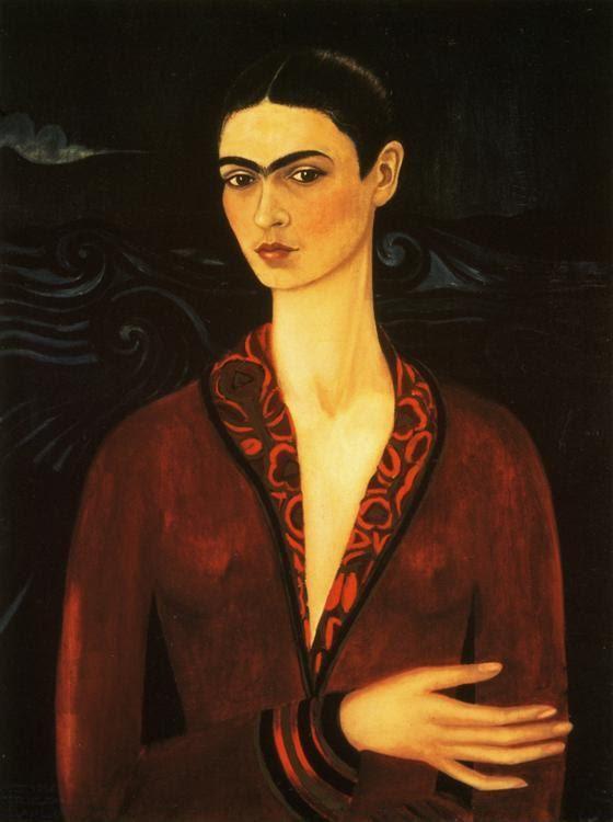 Frida Kahlo. Self-Portrait.
