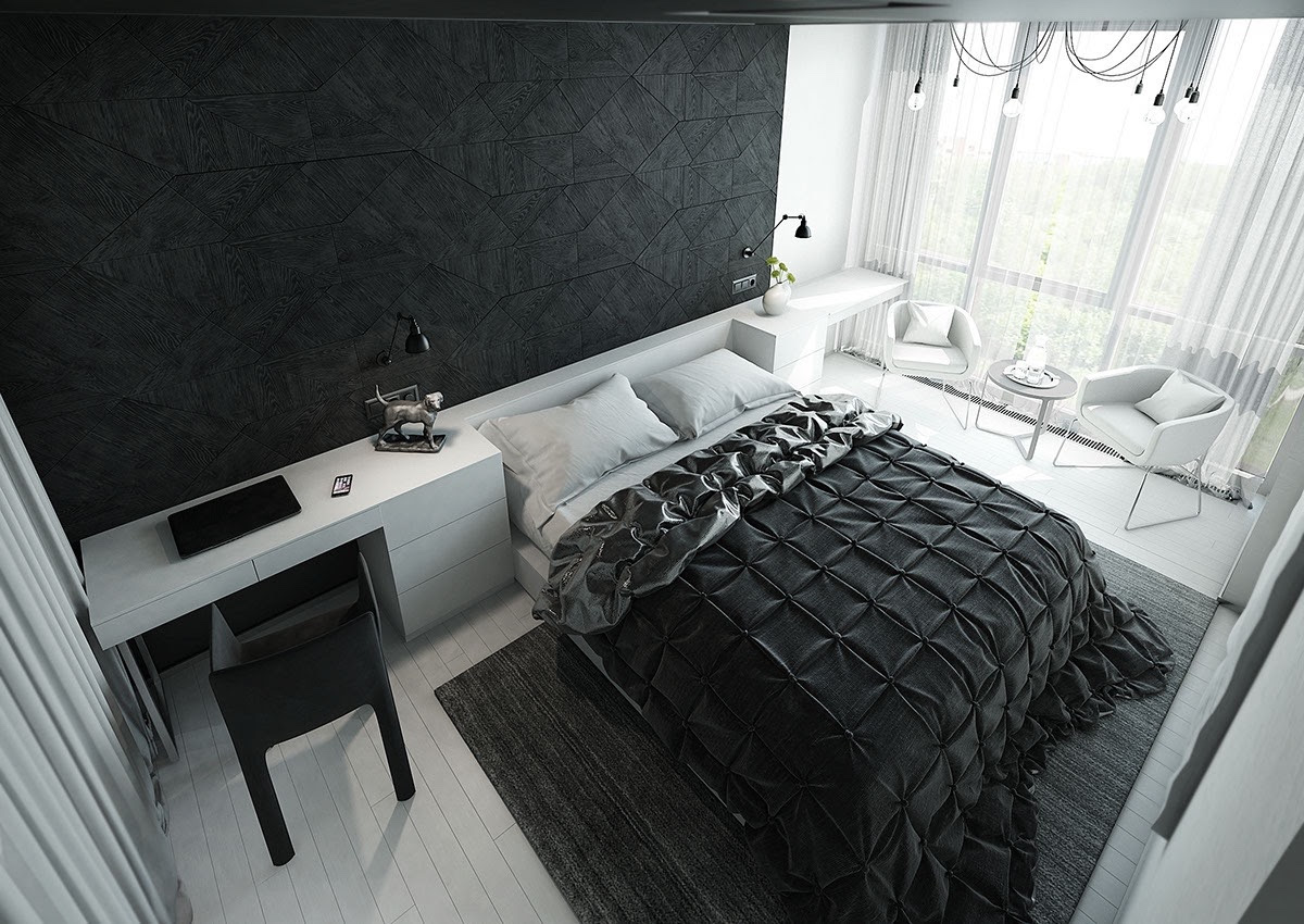 Black & White Stunning Master Bedroom Designs - Master ...