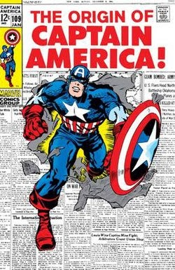 When Did The Captain America Comic Come Out