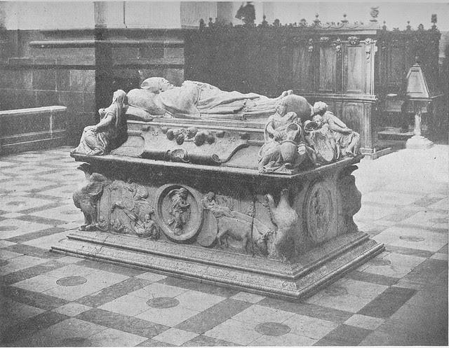 Sepulcro del Cardenal Tavera hacia 1900