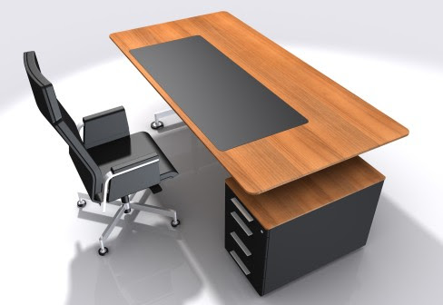 Office Table Hpd371 - Office Furniture - Al Habib Panel Doors