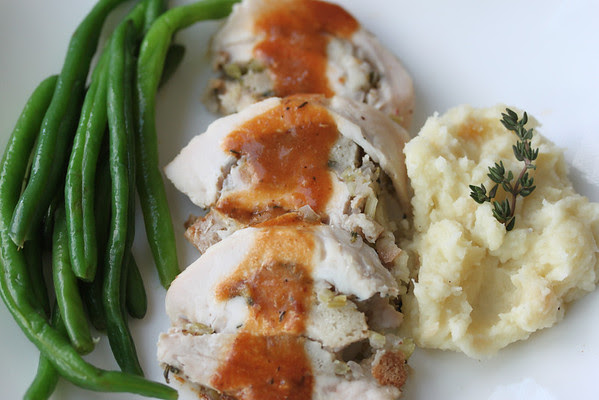 stuffed turkey breast and 20 Thanksgiving Day Recipes and a Bonus Turkey Leftover Recipe