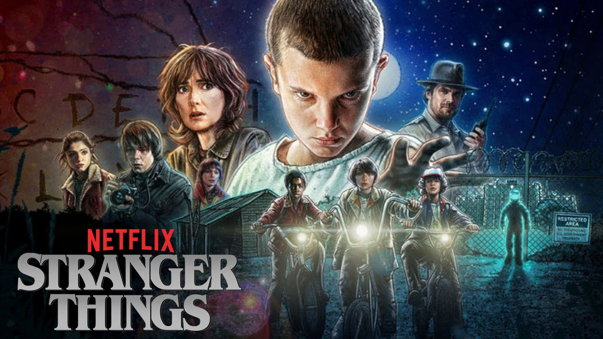 Stranger Things Wallpapers 20 Wallpapers Adorable Wallpapers