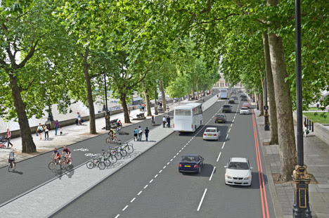 London's new cycle superhighway proposal