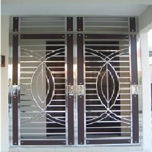 safety door grill design in pune    375 x 500