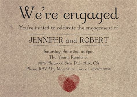 Engagement Party Invitation ? Affordable And Unique