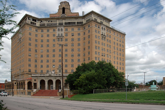 Baker Hotel and resort, Mineral Wells, Texas.