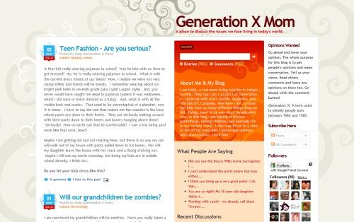 Generation X Mom