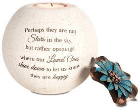 Stars In The Sky Memorial Candle Holder Angel Treasures