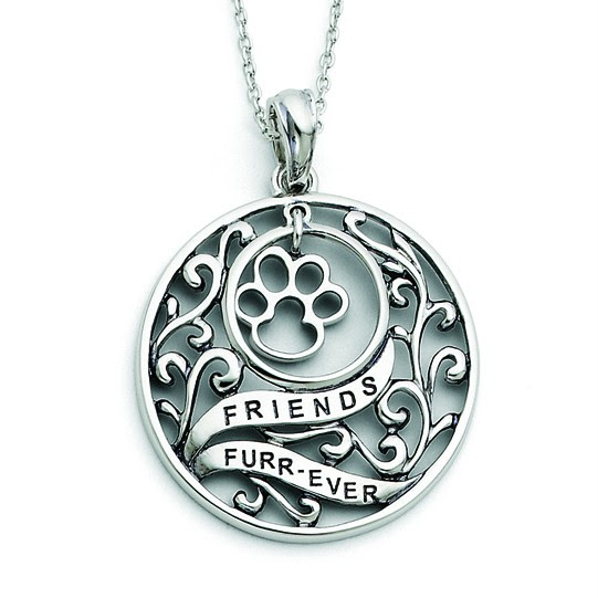 925 sterling silver sentimental expressions animal friends dog 1