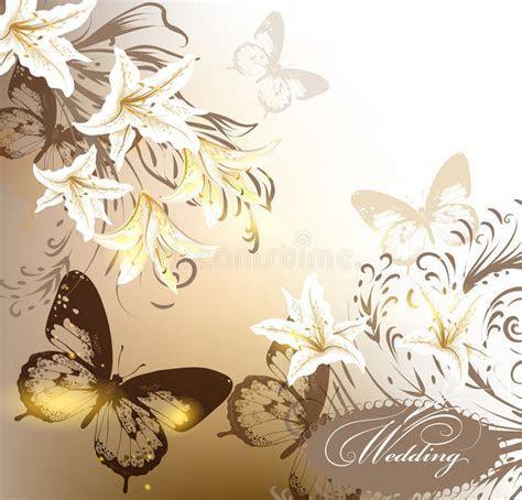 Elegant Wedding Background In Pastel Colors For Design