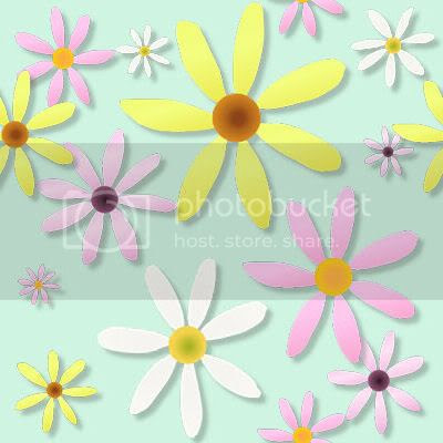 Flower repeating tile blog background graphic spring summer free