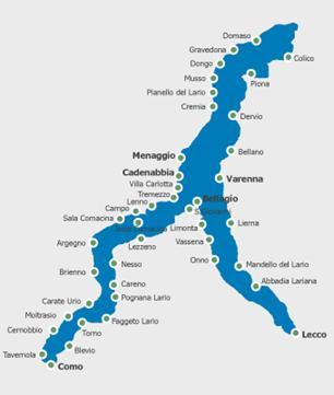 Page 35 Italie Croisière Sur Le Lac De Côme