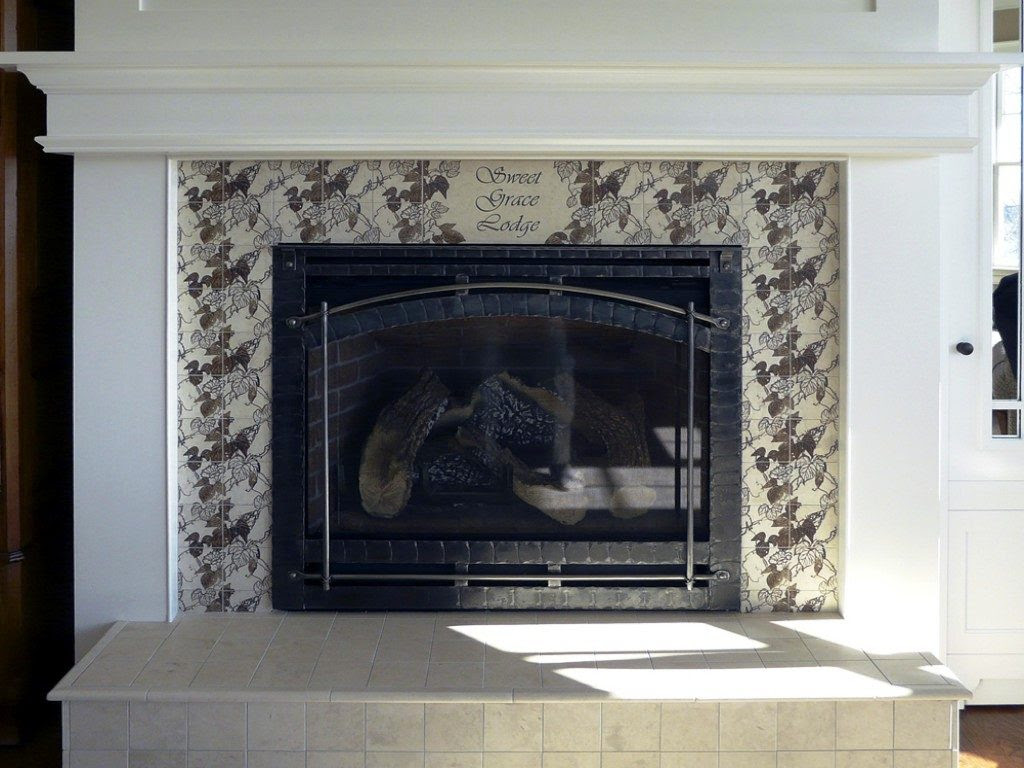 Fireplace Tile Design Ideas On The Mantel And Hearth Ideas