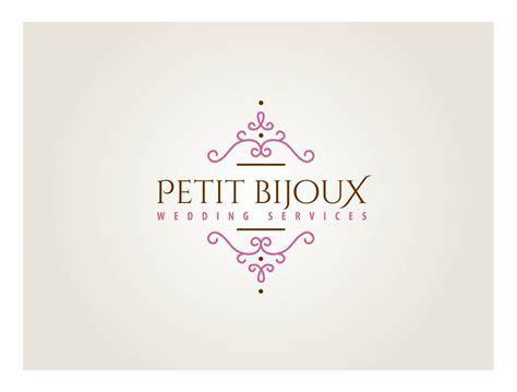 Elegant, Feminine, Wedding Logo Design for Petit Bijoux