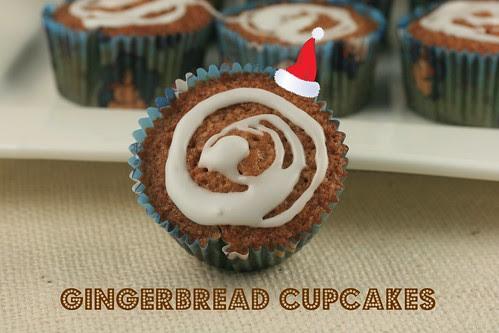 Gingerbread Cupcakes - MS Cupcake Club