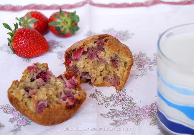 Strawberry muffins
