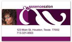 BCS-1122 - salon business card