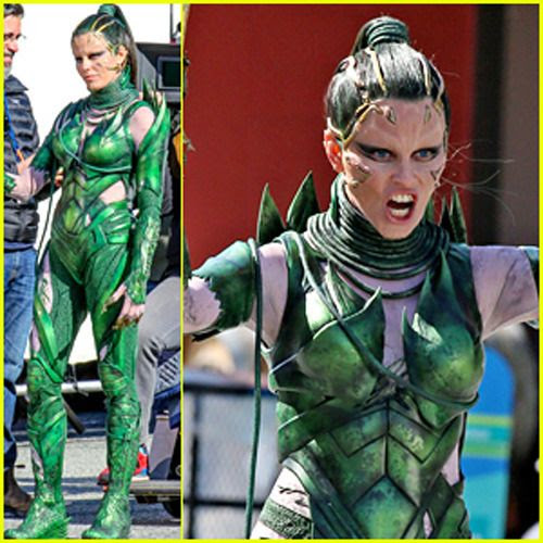 Elizabeth Banks as Rita Repulsa in next year's POWER RANGERS movie.