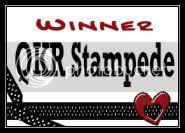 Winner QKR Stampede Challenge  238