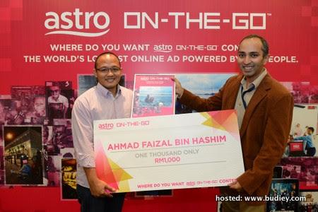 Picture 2 - Ahmad Faizal bin Hashim, Second Prize winner