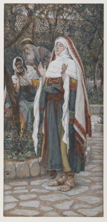 Brooklyn Museum: The Magnificat (Le magnificat)