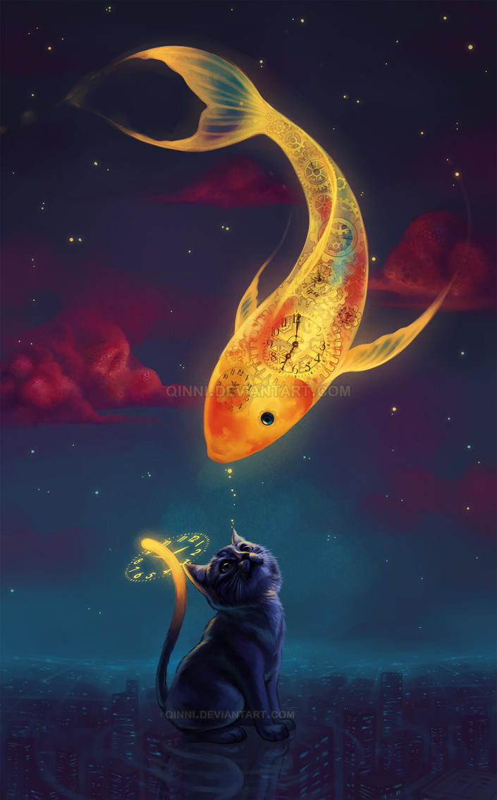 To Catch A MoonFish by Qinni on DeviantArt