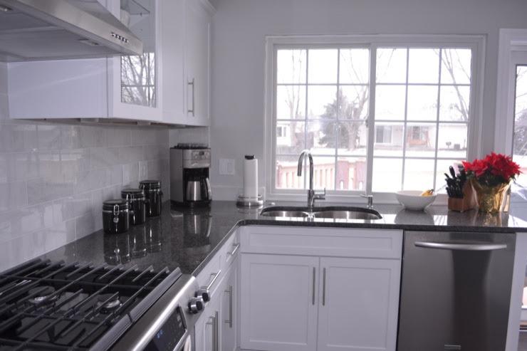 Steel Gray Granite - Contemporary - kitchen